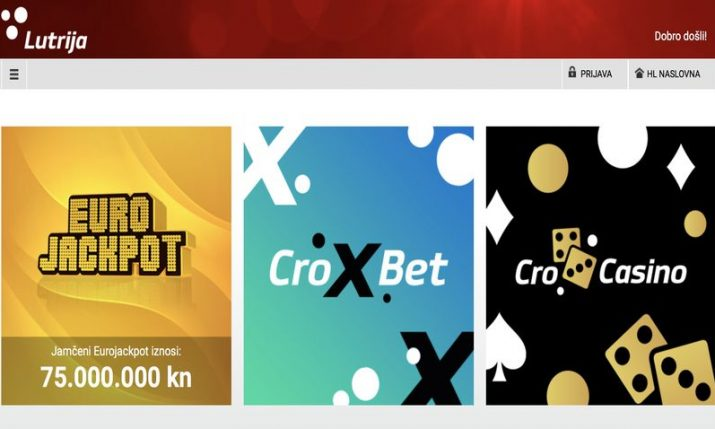 Croatian lottery distributes HRK 100m to good causes, HRK 315m in prizes in 2020