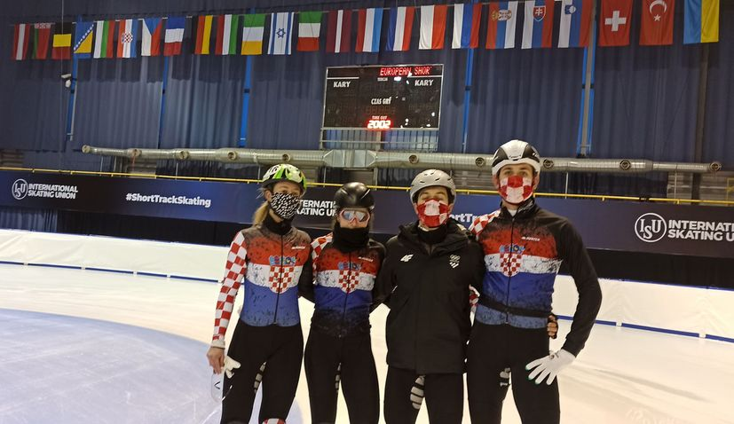 Croatian team will compete at the 2021 European Short Track Speed Skating Championships in Gdańsk, Poland