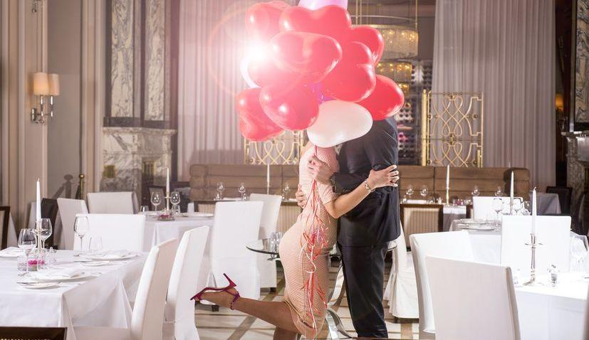 Esplanade in Zagreb attracting Valentine's Day romantics