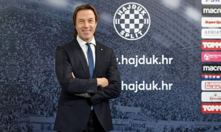 Hajduk Split name Italian PaoloTramezzani as new coach
