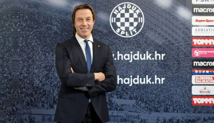 Hajduk Split name Italian Paolo Tramezzani as new coach