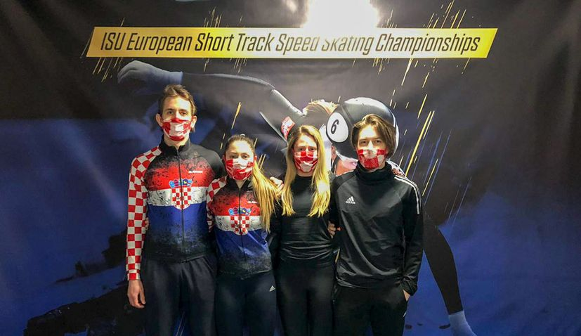 Speed Skating EURO: New records and success for Croatia