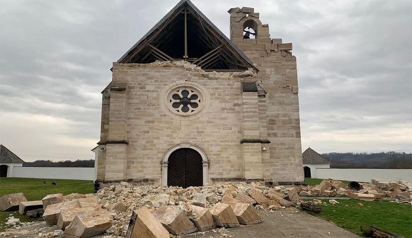 Hungary to rebuild primary school in Petrinja, church in Žažina