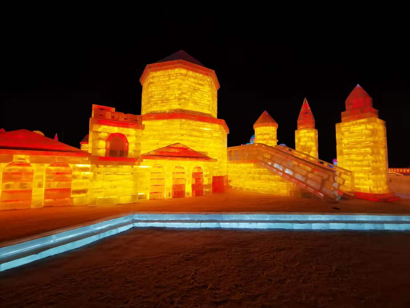 Split's Diocletian's Palace star of world's most famous Snow and Ice Festival
