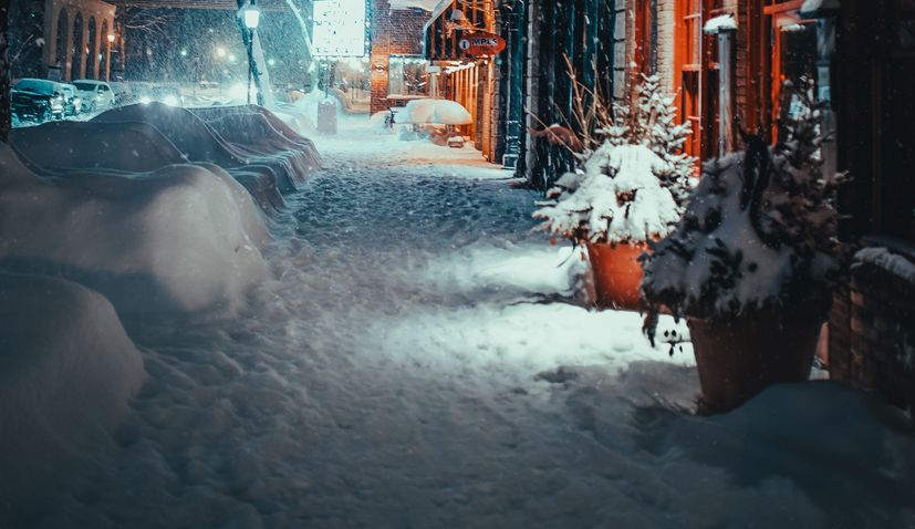 SNOW IN MADRID CANCELS HANDBALL CROATIA