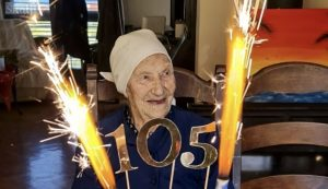 One of Croatia's oldest turns 105 and shares her secrets