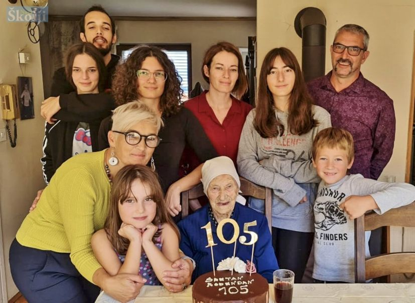 Margarita Dorkin One of Croatia's oldest turns 105 and shares her secrets