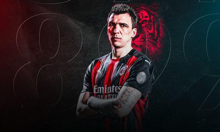 Mario Mandžukić signs for AC Milan
