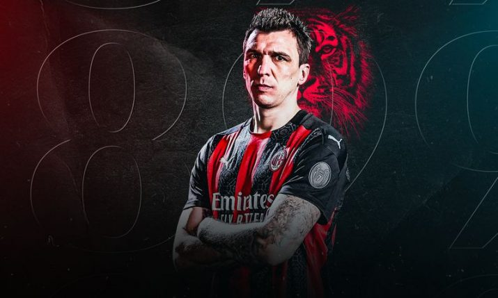Mario Mandžukić signs for AC Milan
