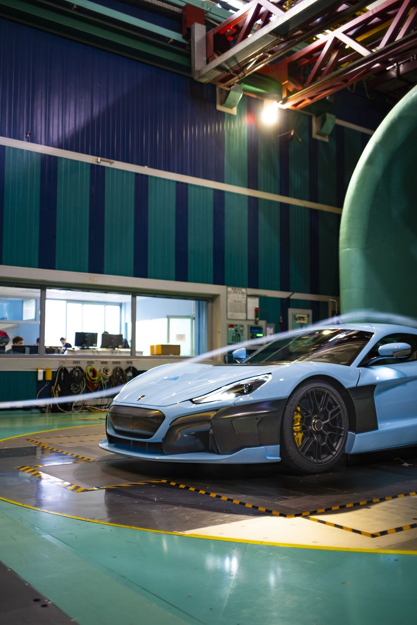 Rimac puts C_Two hypercar through aerodynamic testing ahead of delivery