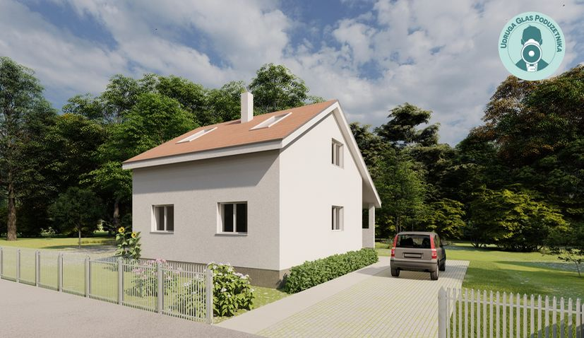 Voice of Entrepreneurs design model house for Croatia earthquake victims