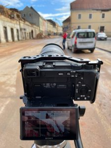 Young filmmakers from Sisak making documentary Sisak Cinema Club