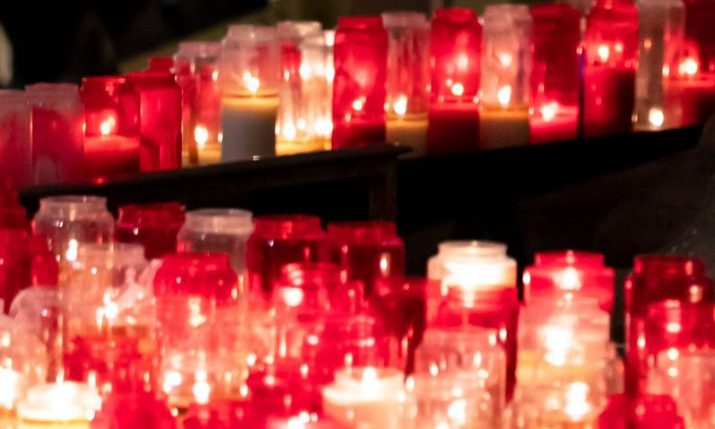 Wreath laid, candles lit for seven killed in Croatia earthquake