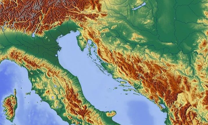 Croatia sits on many geological faults, not all active, southern Dalmatia highest risk