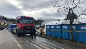 Slovenian and Austrian firefigthers bring aid for earthquake victims