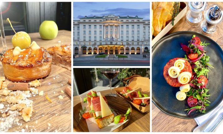 Zagreb's Hotel Esplanade introduce take-out à la carte service