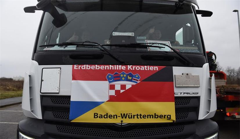 german firefighters croatia earthquake