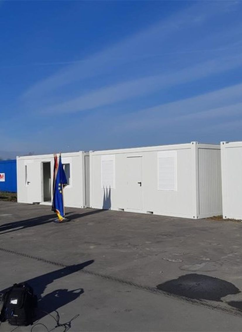 germany donate croatia containers
