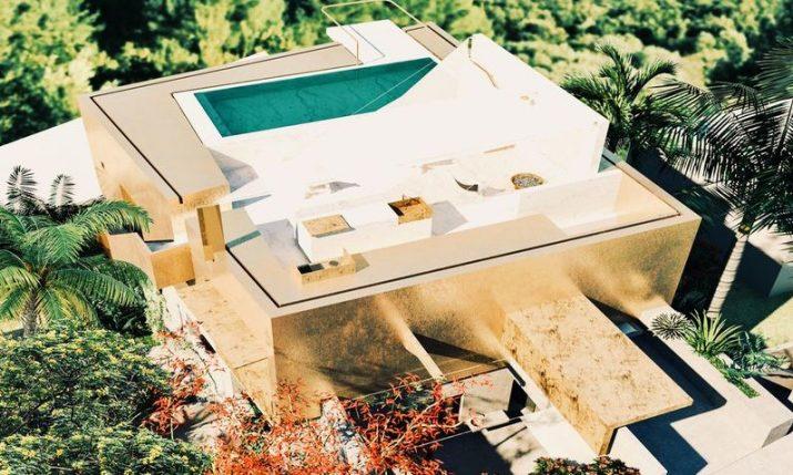 Gold house above Hvar: Unique penthouse with views of the Pakleni islands