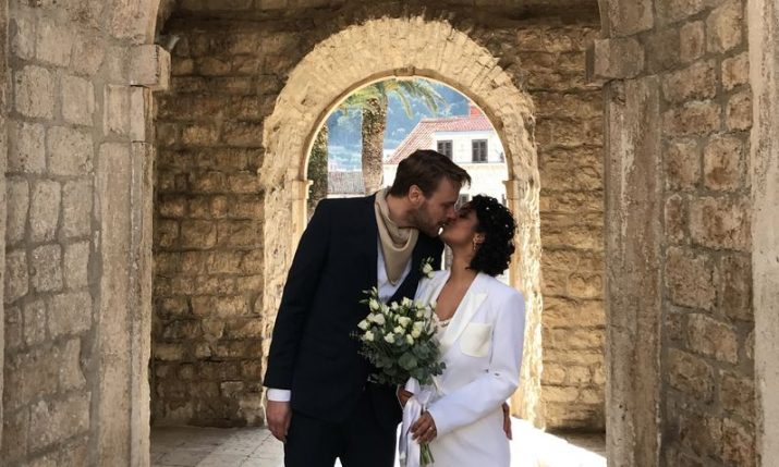 Foreign couple tie the knot in Korčula after falling in love with the island