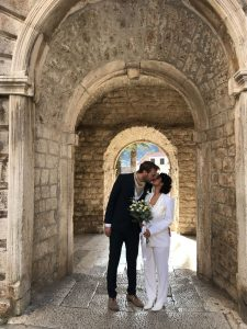 Polish and Indian couple choose Korčula for winter wedding