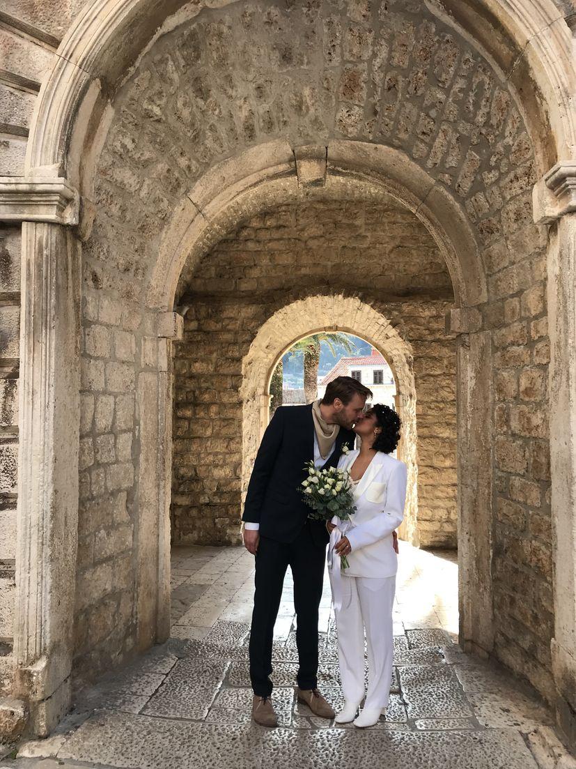 Polish and Indian couple choose Korčula for winter wedding