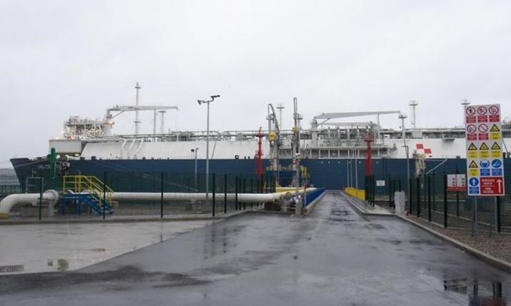 Floating LNG terminal in Omišalj on Krk inaugurated