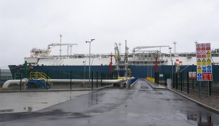 Floating LNG terminal in Omišalj on Krk inaugurated