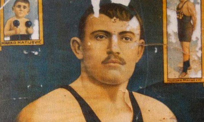 Croatian Marijan Matijević – once the world's strongest man – born 143 years ago today