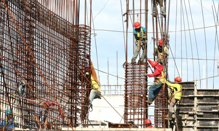 Number of building permits issued in Croatia up