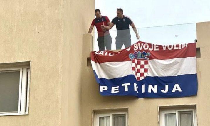 VIDEO: Croatia handball team show support for Petrinja at World Champs in Egypt