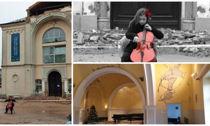 Help rebuild public music school in Sisak and Petrinja