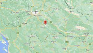 Sisak shifted eastward 10 centimetres, Petrinja 20 centimetres in quake