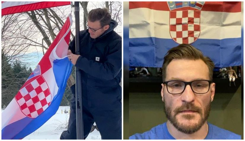 UFC Champ Stipe Miocic organising earthquake donations croatia