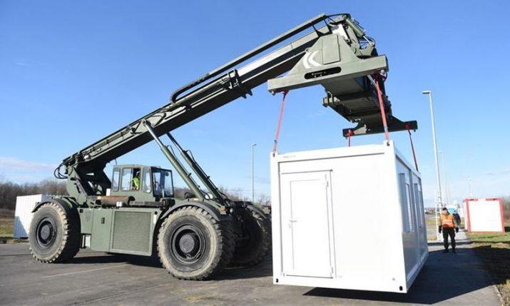 Switzerland donates 20 housing, 12 sanitary containers to earthquake-hit areas of Croatia