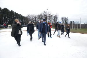 Cmrok- Zagreb's winter sledding park officially opened today