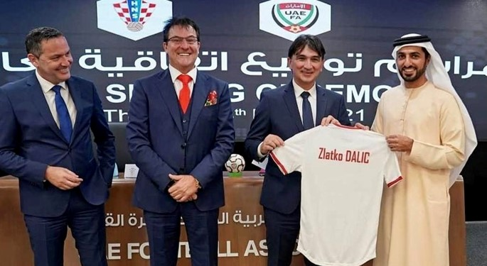 The Croatian Football Federation has signed a cooperation agreement with the United Arab Emirates Football Association in Dubai