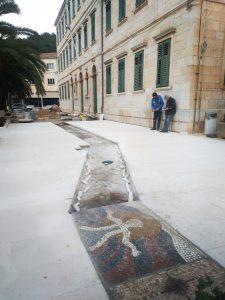 Korčula: World's longest mosaic promenade project to continue in Vela Luka