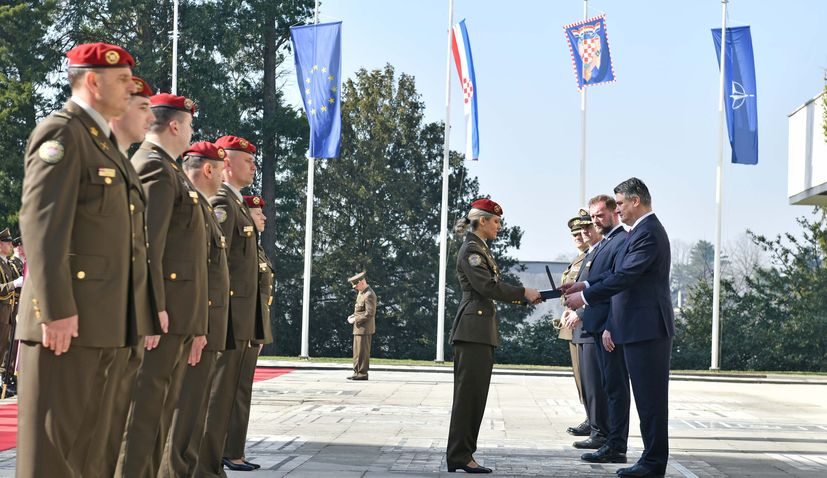 PHOTOS: 27th anniversary of Croatia's Honorary Protection Battalion marked