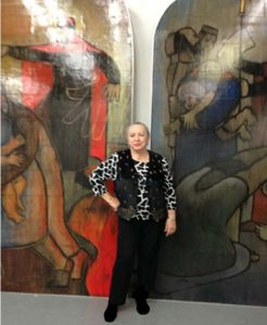 5 medallions of Croatian history mural looking for a home