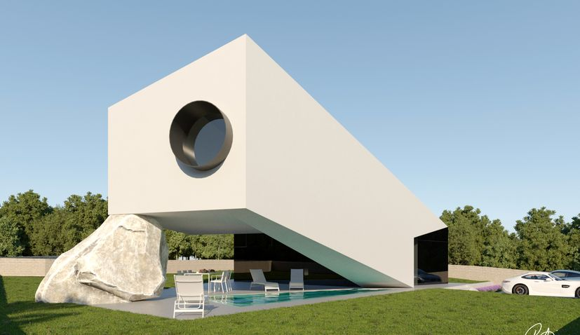 Croatian architecture: Head-turning house design from the heart of Istria