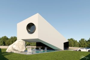 The Scope House project Bale, Istria house