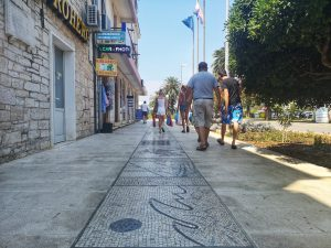 Korčula: World's longest mosaic promenade project to continue in Vela Luka