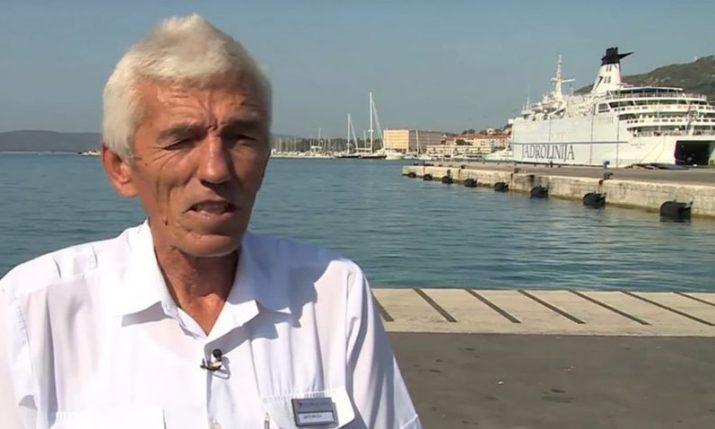Ante Mrvica: Good spirit of Split ferry port passes away