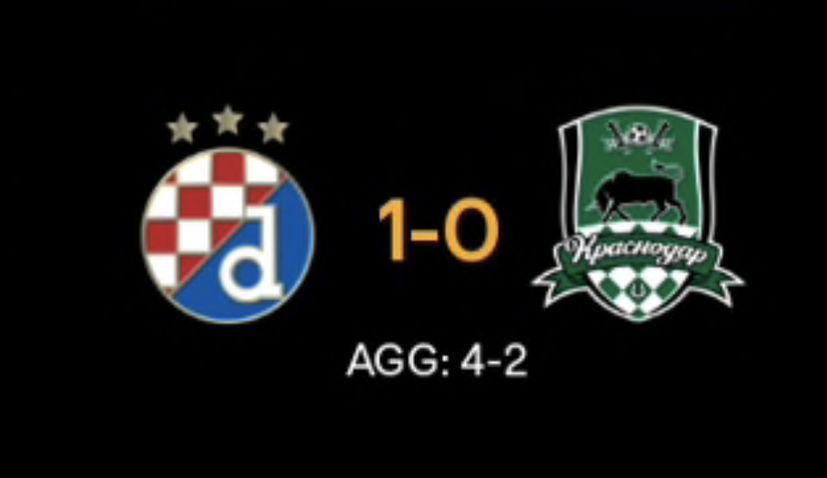 Dinamo Zagreb reach last 16 of europa league
