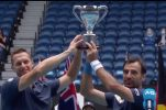 Australian Open: Croatia's Ivan Dodig wins doubles title with Filip Polasek