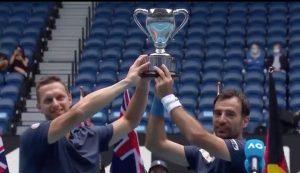 Australian Open: Croatia's Ivan Dodig wins doubles title with Filip Polášek