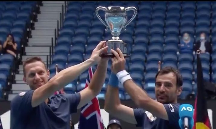 Australian Open: Croatia's Ivan Dodig wins doubles title with Filip Polasek
