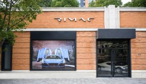 First Rimac showroomopensin Shanghai