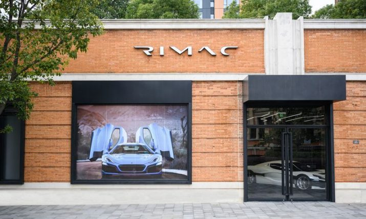 PHOTOS: First Rimac showroom opened in Shanghai